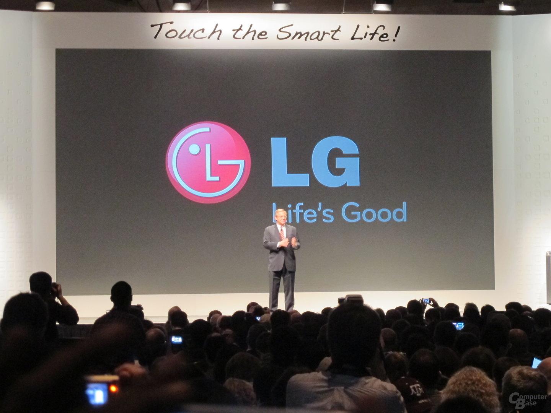 LG Pressekonferenz CES 2013