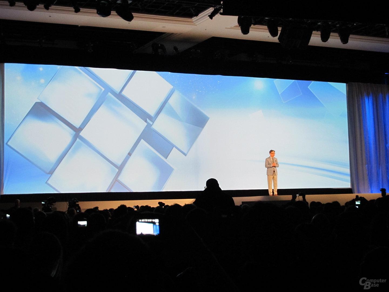 Samsung Pressekonferenz CES 2013