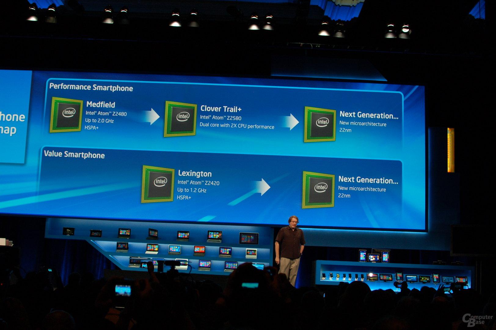 Intel-Atom auf der CES 2013