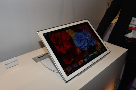 Tablet von Panasonic mit 4K-Auflösung