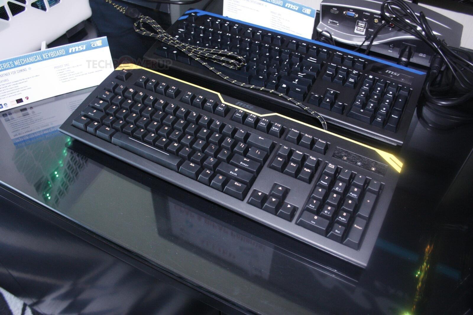 """MSI """"GK""""-Tastaturen"""