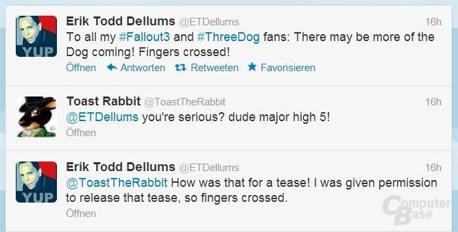 "Erik Todd Dellums kündigt ""Three Dog"" an"