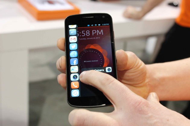 Ubuntu Phone Dash