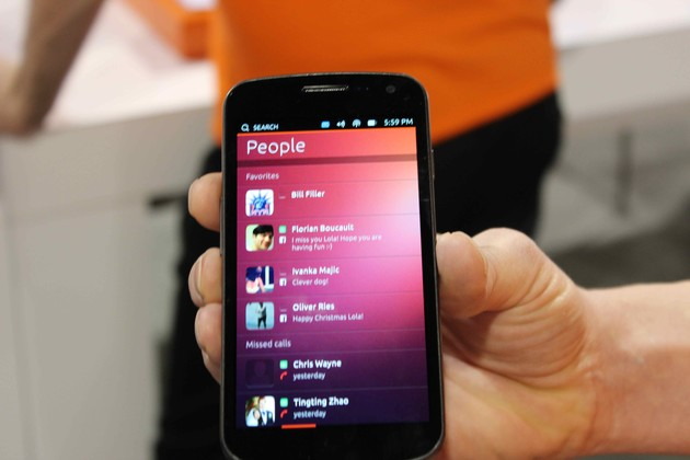 Ubuntu Phone People App