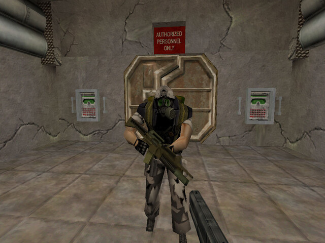 Screenshots aus einer Half-Life-1-Alphaversion