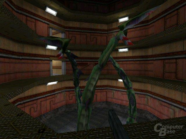 Screenshots aus einer Half-Life-1-Alphaversion