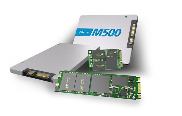 Micron M500 SSD Familie