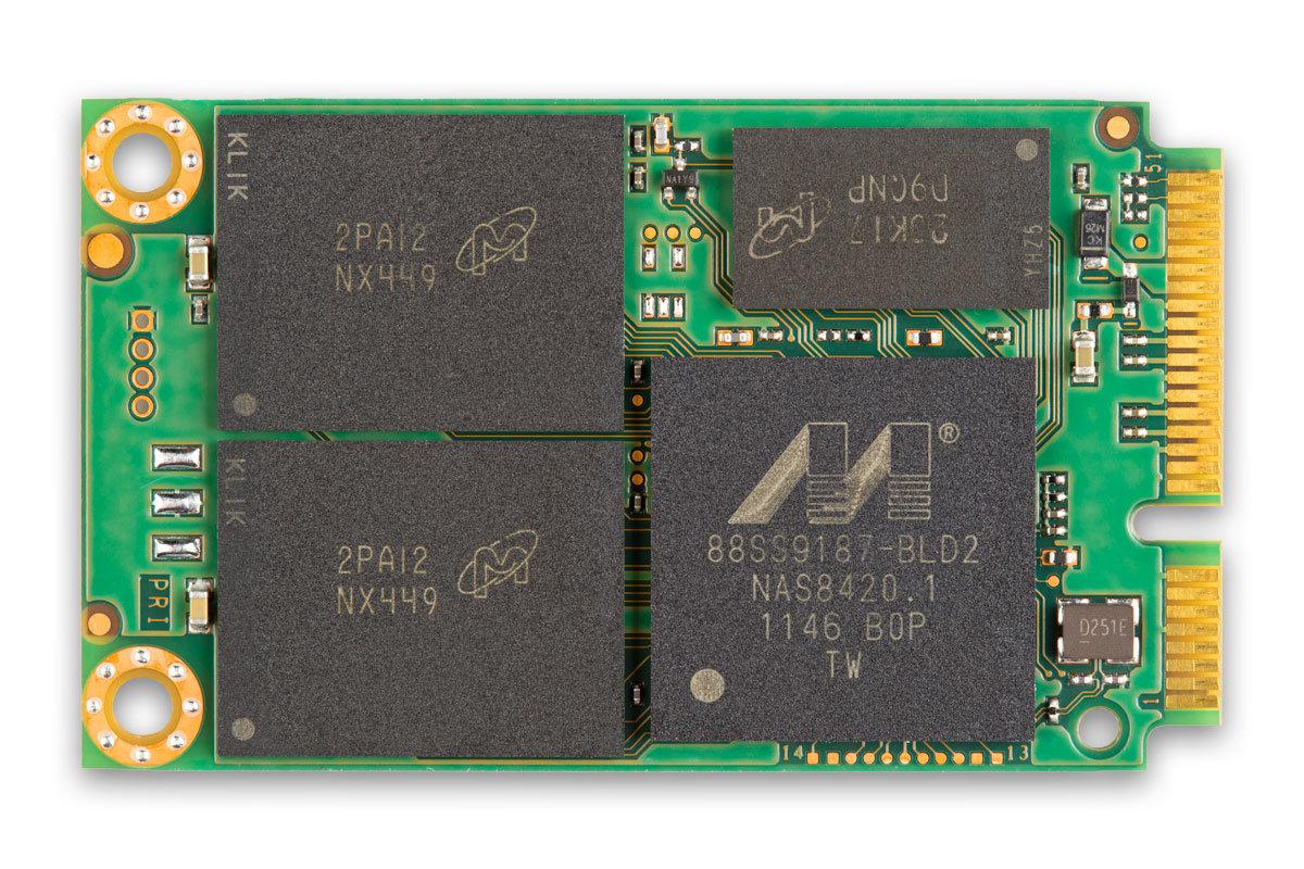 Micron/Crucial M500 (mSATA)