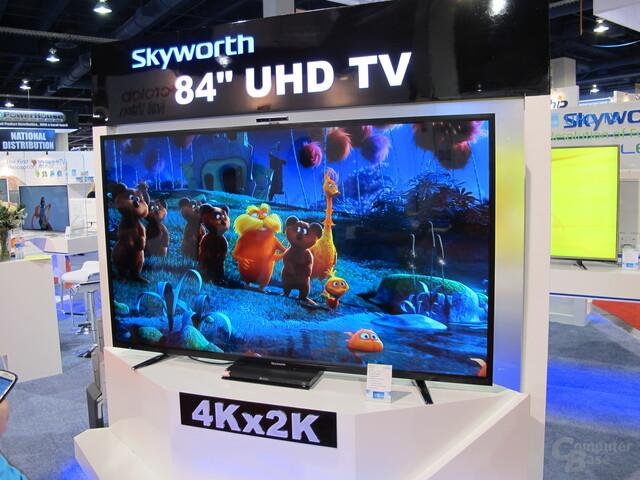 UHD-Fernseher: Eines der größeren Themen