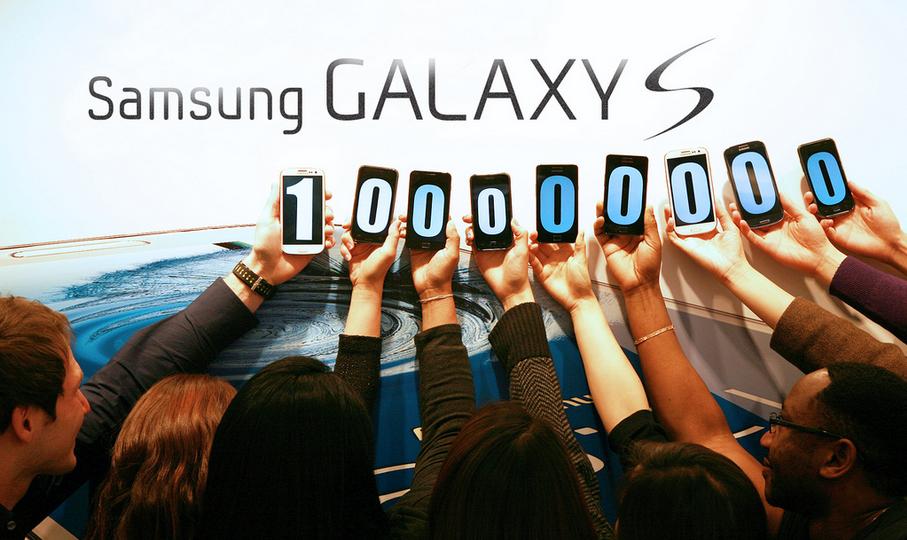 100 Millionen Galaxy-S-Smartphones ausgeliefert