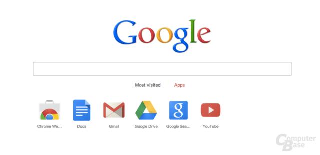 Neue Chrome-Startseite