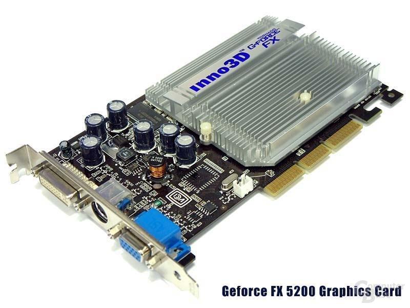 Tornado FX 5200 Karte