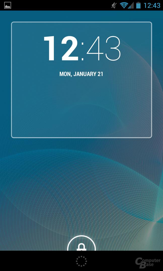 Android 4.2.1 - Lockscreen-Widget