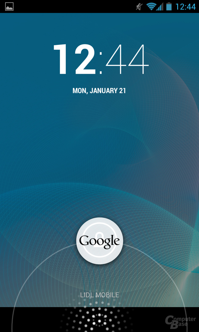 Android 4.2.1 - Lockscreen Google Now