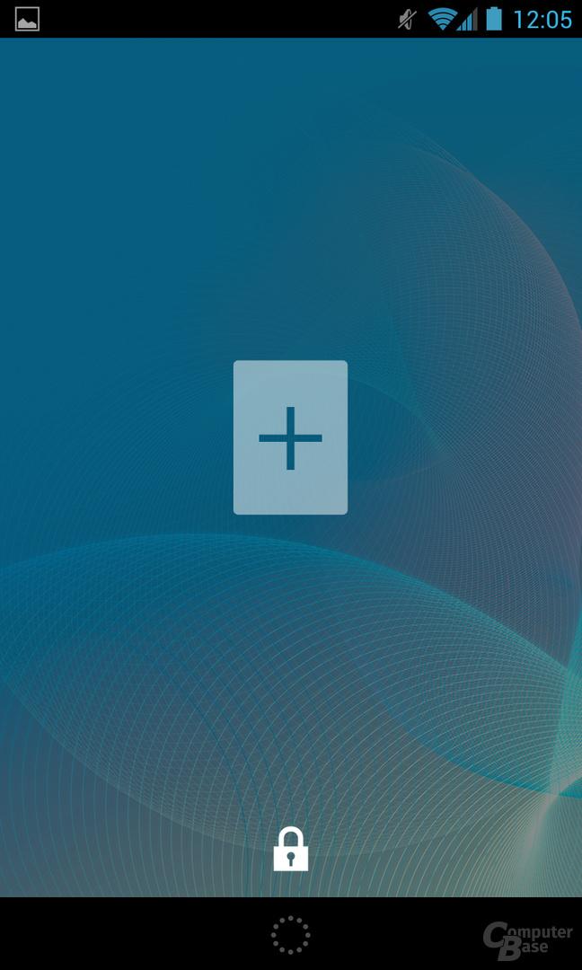 Android 4.2.1 - Lockscreen-Widget hinzufügen