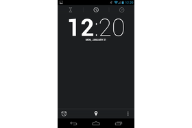 Android 4.2.1 - Uhr