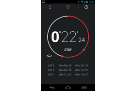 Android 4.2.1 - Stoppuhr