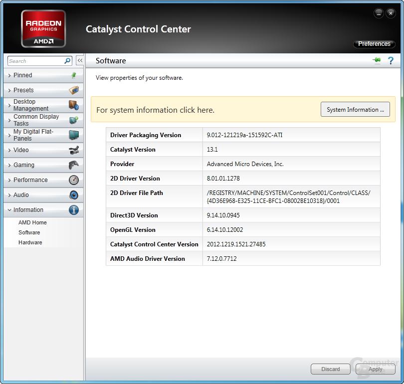 AMD Catalyst 13.1