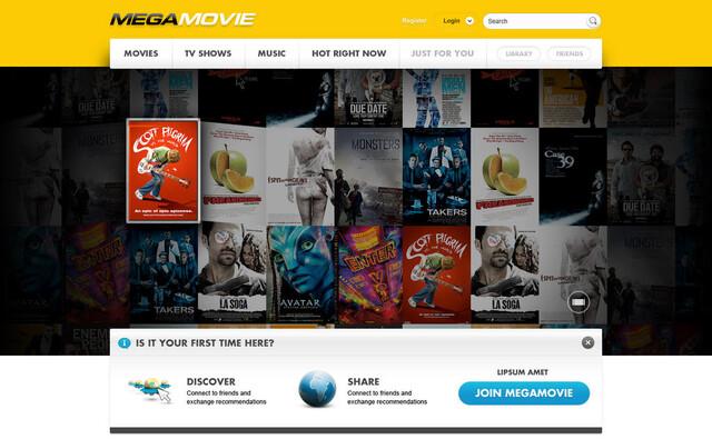 MegaMovie Ankündigung