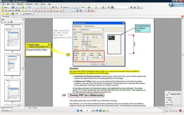 PDF-XChange – Tools