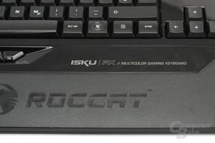 Roccat Isku FX – Schriftzug auf Klavierlack