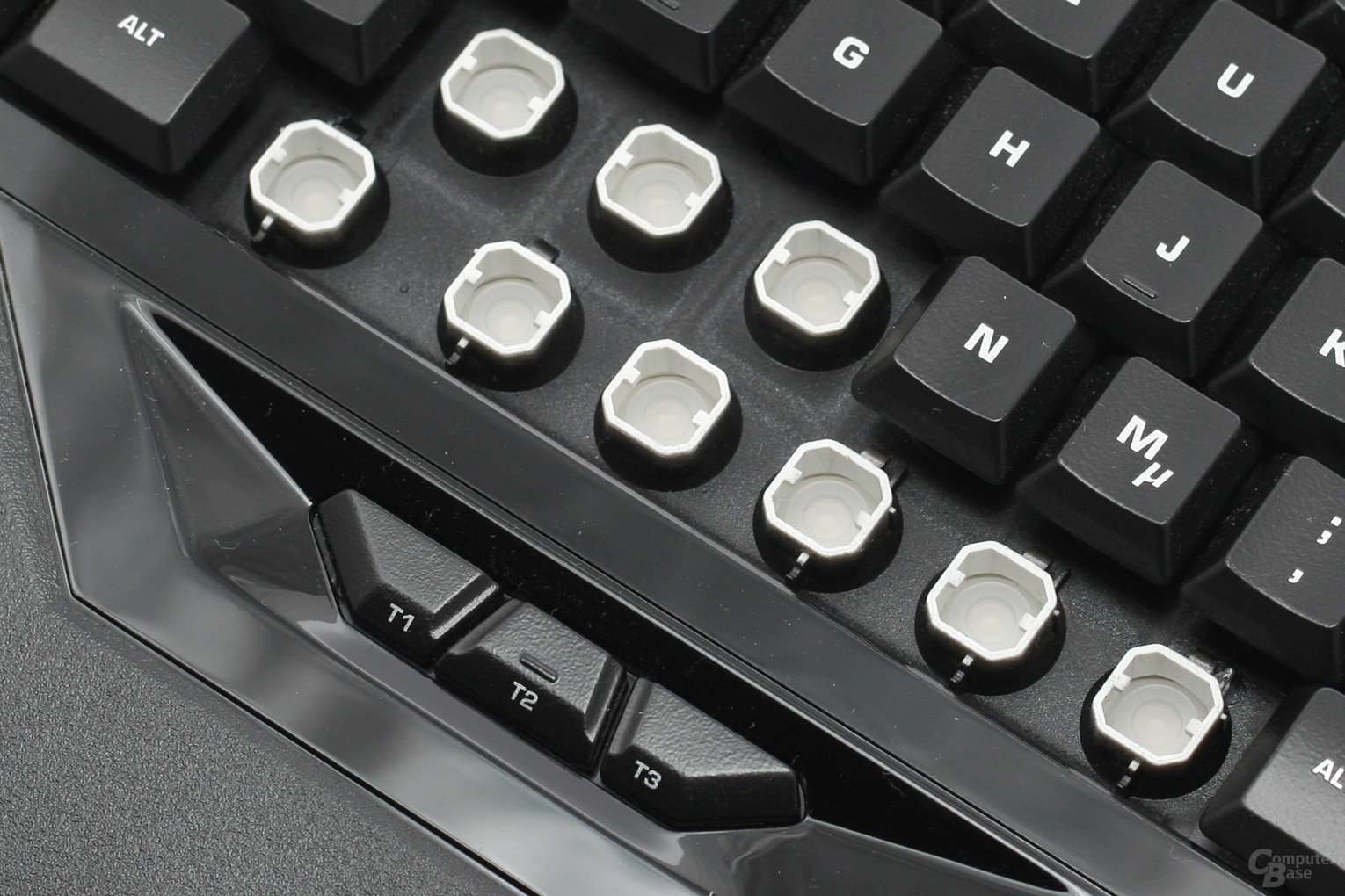 Roccat Isku FX – Rubberdome-Switches