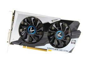 Sapphire Radeon HD 7770 Vapor-X Black Diamond