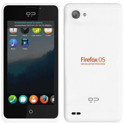 "Firefox OS Entwickler-Smartphone ""Peak"""