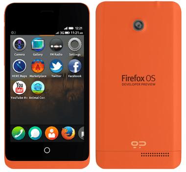 "Firefox OS Entwickler-Smartphone ""Keno"""