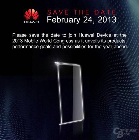 Huawei-Ankündigung für den MWC