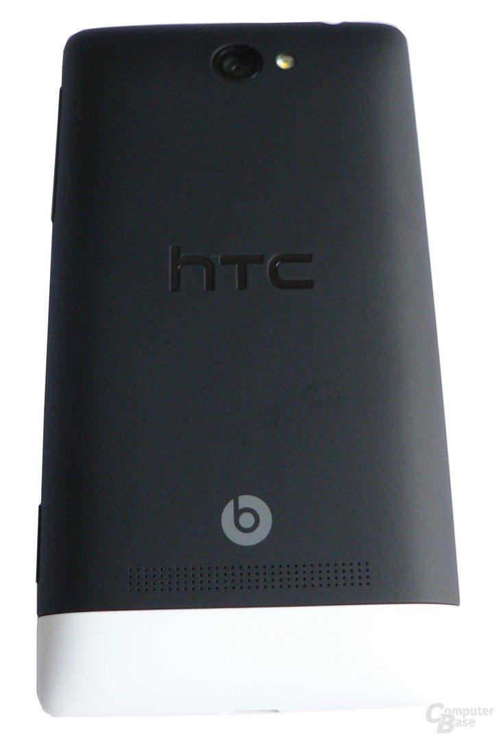 HTC 8S – Rückseite