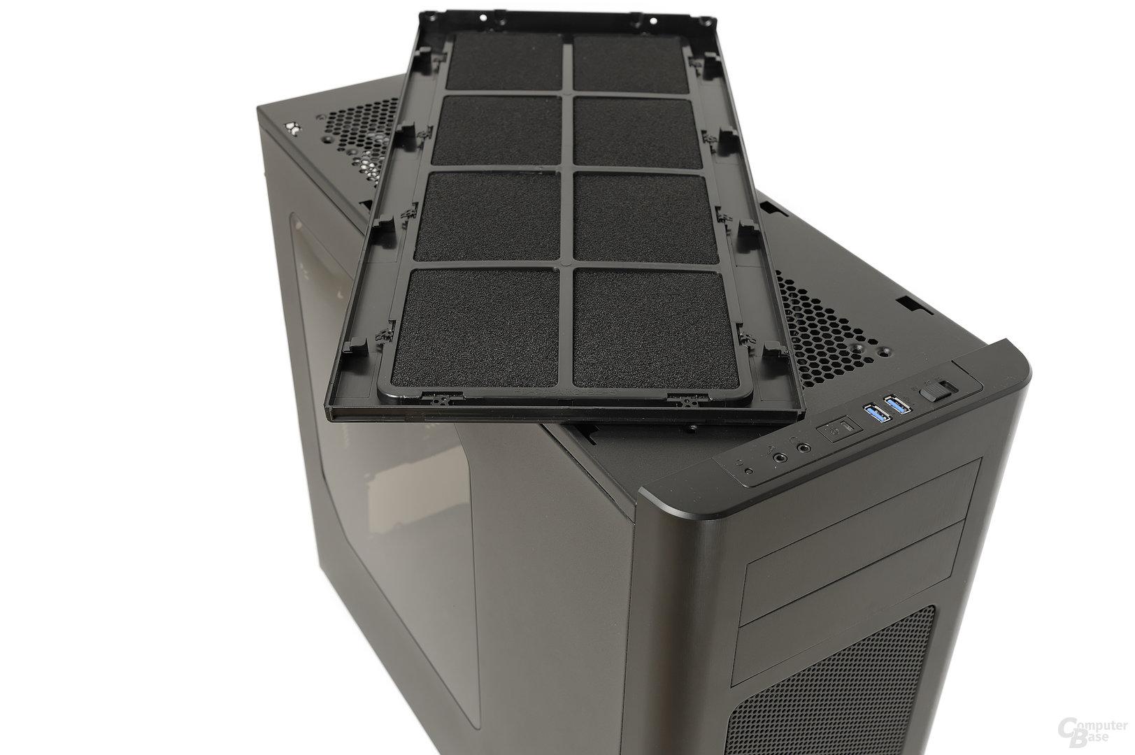 Fractal Design Arc Midi R2 - Topverkleidung abgenommen