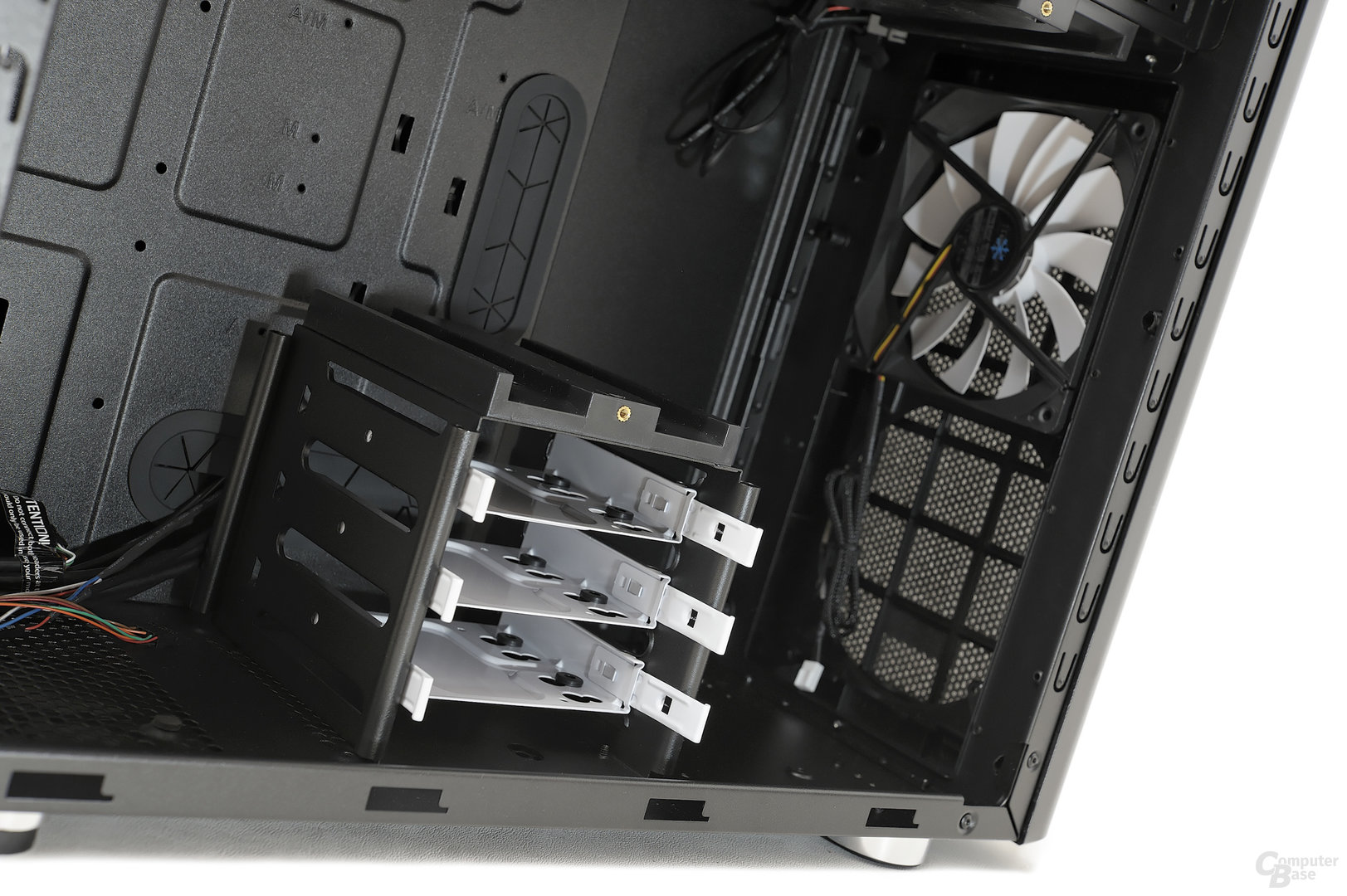 Fractal Design Arc Midi R2 - Variabler unterer Festplattenkäfig