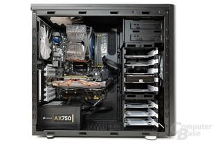 Fractal Design Arc Midi R2 - Testsystem
