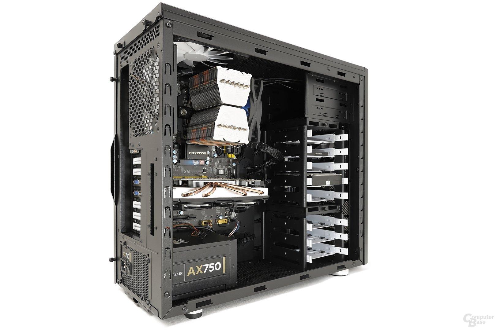 Fractal Design Arc Midi R2 - Testsystem seitlich