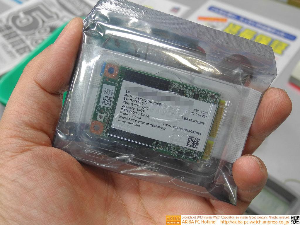 Intel SSD 525 im japanischen Handel