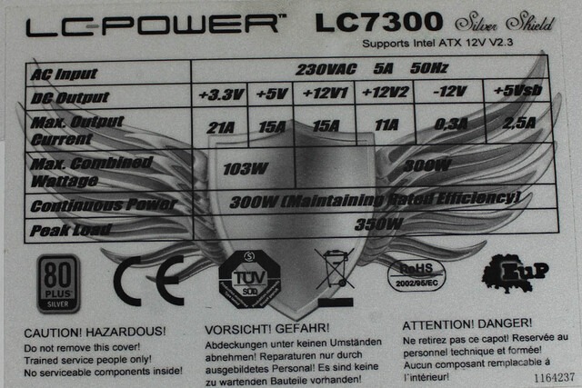 LC-Power Silver Shield – Datenblatt