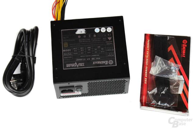 Enermax Triathlor 300 Watt – Lieferumfang