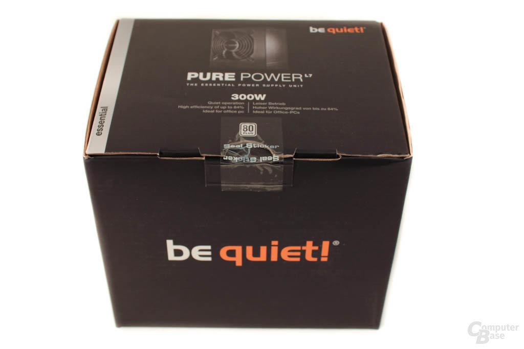 be quiet! Pure Power L7 300 Watt – Verpackung