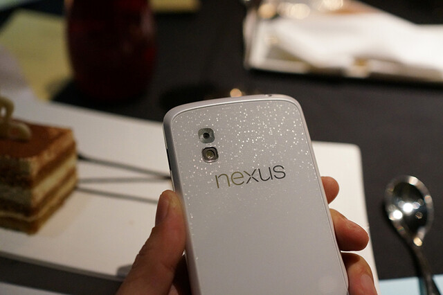 Google Nexus 4 in Weiß