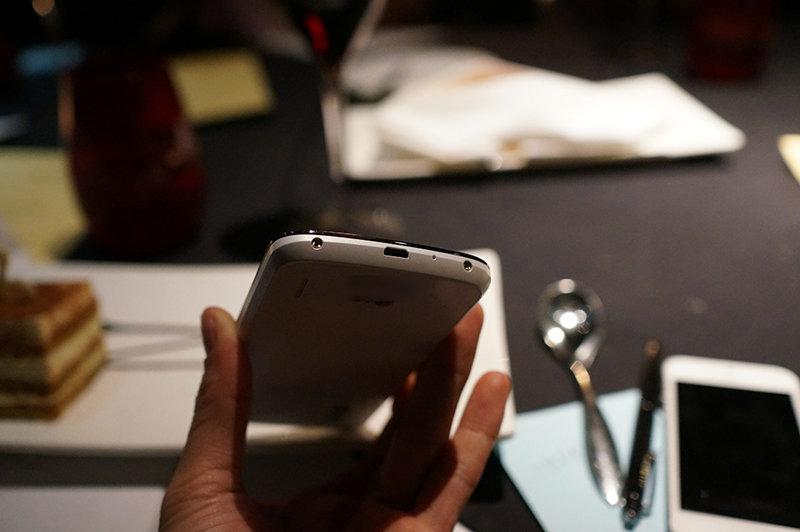 Google Nexus 4 in Weiß
