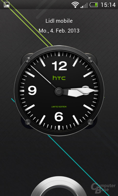 HTC One SV Lockscreen