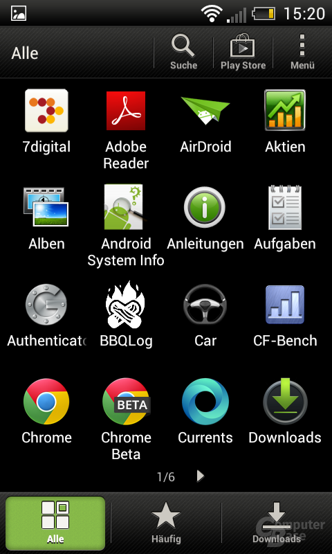 HTC One SV Launcher
