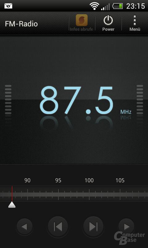 HTC One SV Radio
