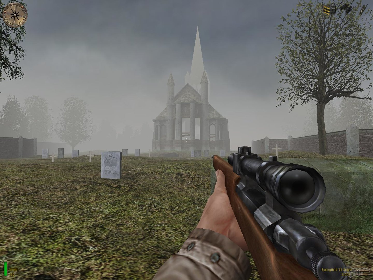 Medal of Honor: Allied Assault – Normale Sichtweite
