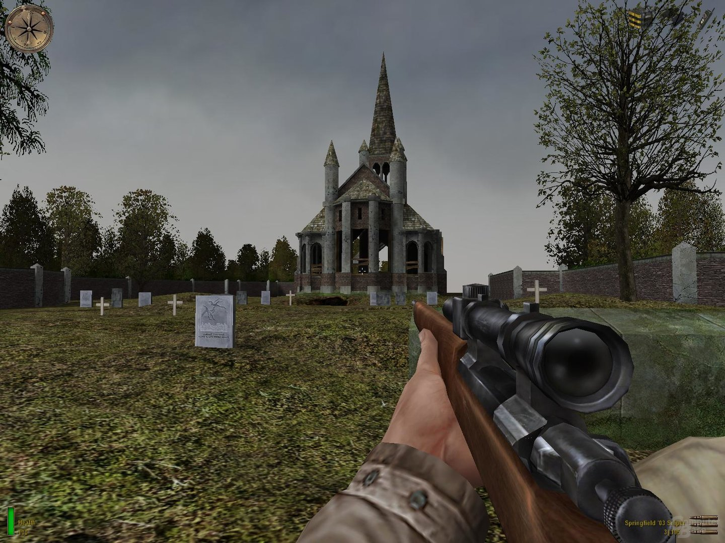 Medal of Honor: Allied Assault – Maximale Sichtweite