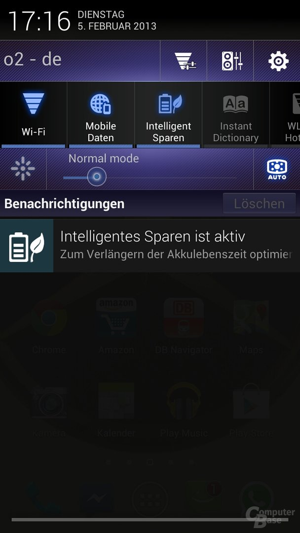 Screenshot Asus Padfone 2