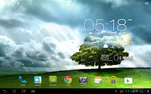 Screenshot Asus Padfone 2
