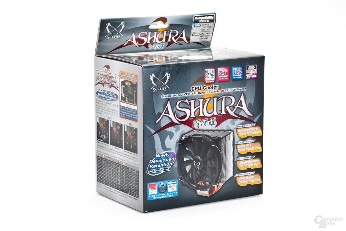 Scythe Ashura Retail-Verpackung