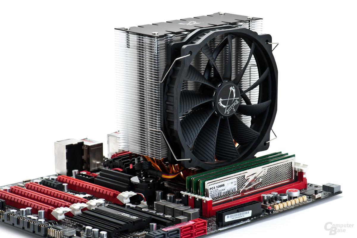 Schmales Design blockiert keine RAM-Bänke